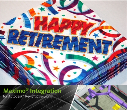 Maximo Integration for Autodesk Revit 2013 products retires