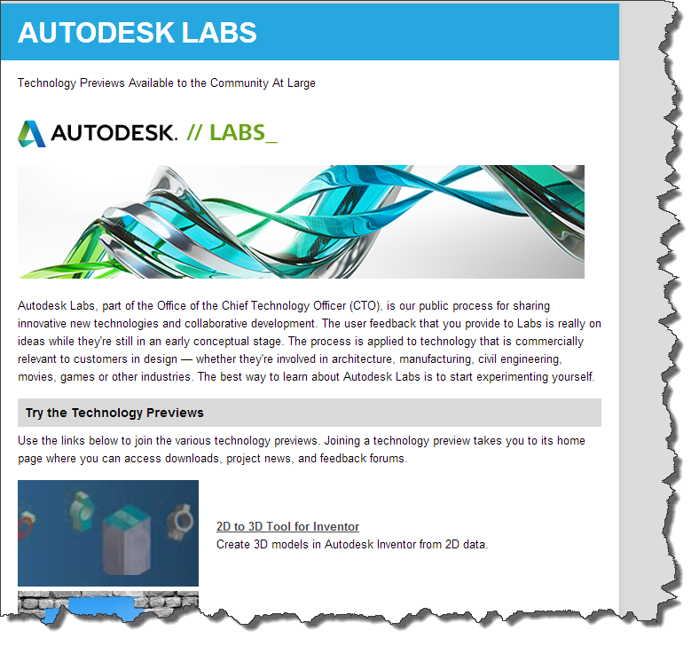 Types of Technology Previews and Betas on Autodesk Feedback