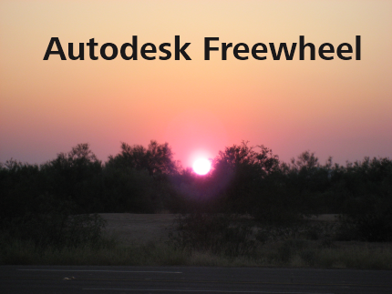 Autodesk_freewheel_sunset