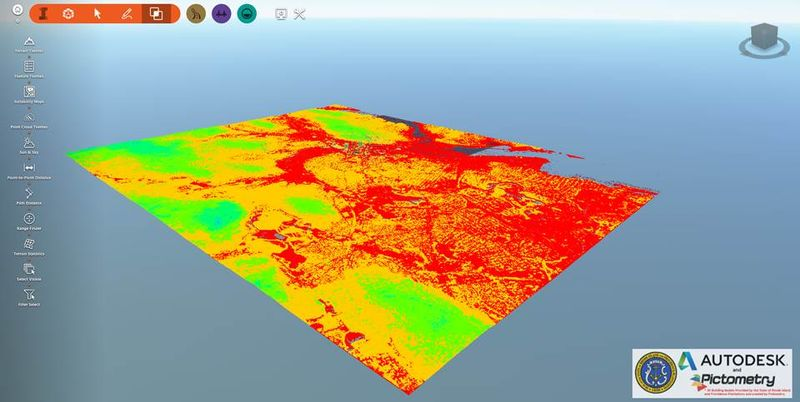 Autodesk ReCap and Autodesk InfraWorks 360 are a colorful combination - It is Alive in the Lab