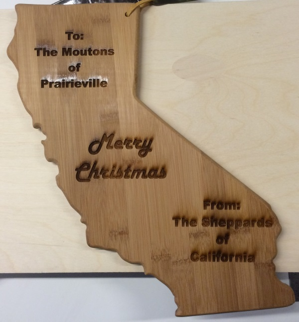 Engraving Cutting Boards at the Autodesk Pier 9 Office - It is Alive