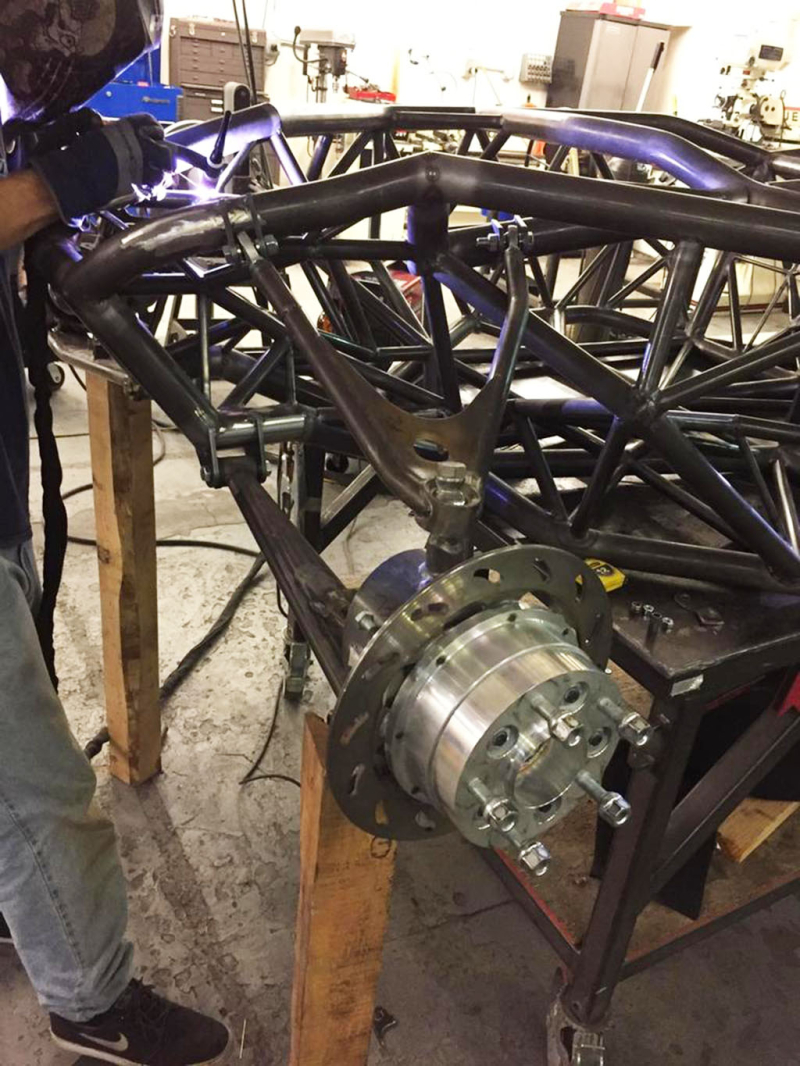 Coyote chassis_welding