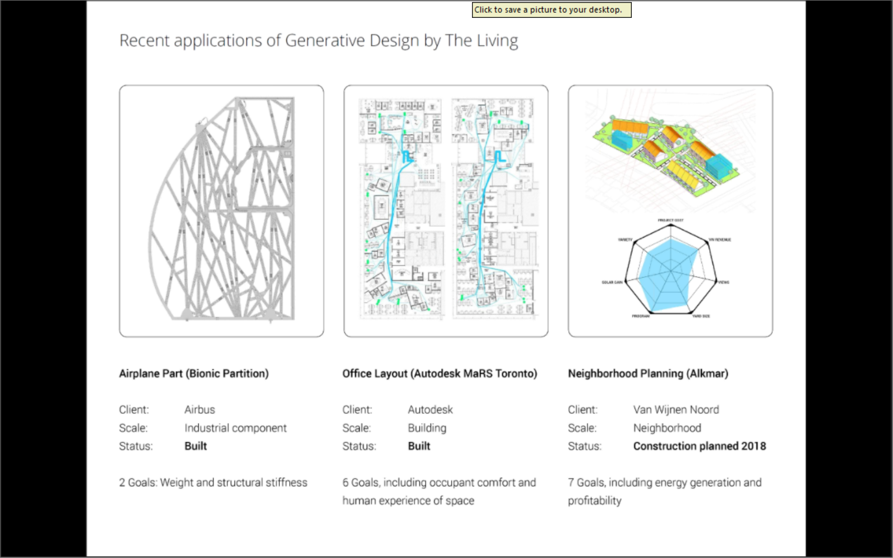 Autodesk's The Living Studio: Generative Design for