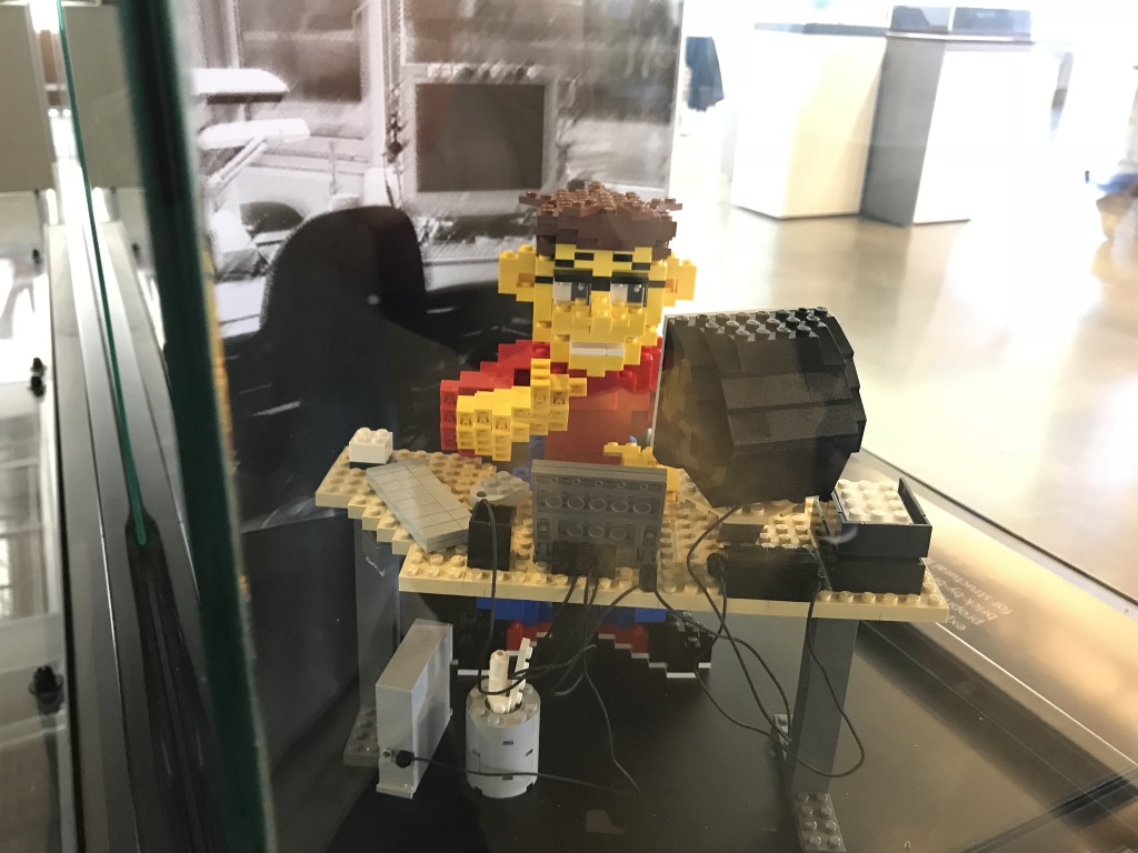 Autodesk Gallery at One Market in San Francisco: LEGOLAND