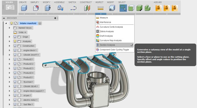 how to make center of mass visible in solidworks